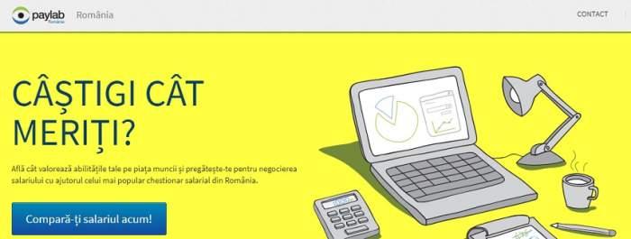 eJobs lansează Paylab.ro, primul comparator, în timp real, de salarii din România