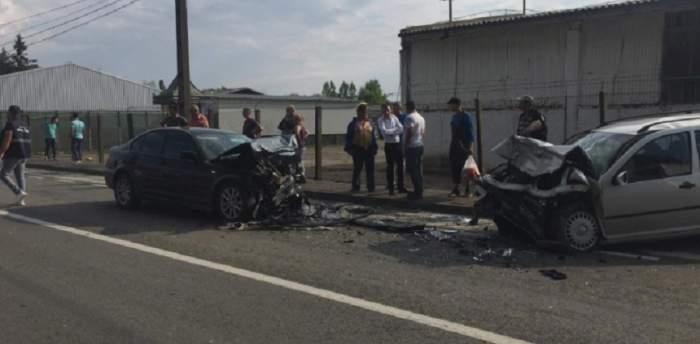 FOTO / Accident foarte grav în Paşcani! Un bărbat a murit pe loc
