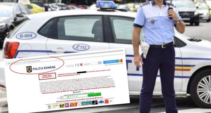 """Escrocheria marca """"Poliţia Română"""" care face ravagii pe Internet! Documente exclusive"""