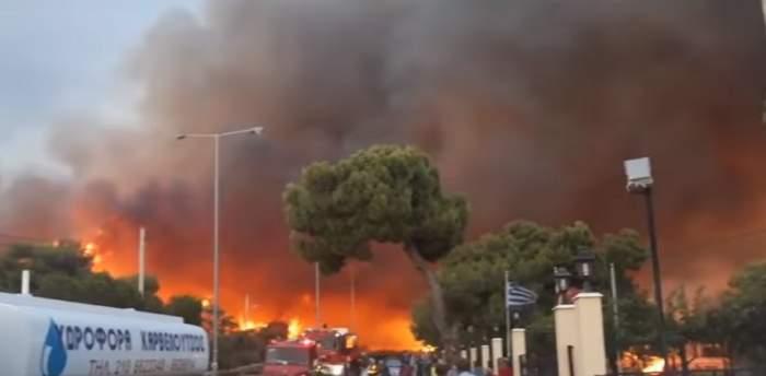 Semnul divin apărut după incendiile din Grecia. Oamenii cred că este un mesaj de la Dumnezeu