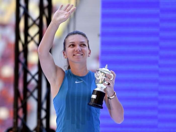 FOTO / Simona Halep şi-a pus fanii pe jar! Liderul WTA s-a fotografiat în costum de baie, într-un cadru de vis