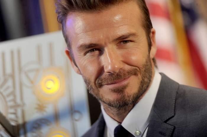 FOTO / David Beckham, așa cum nu l-ai mai văzut! A lăsat mingea de fotbal și a trecut la alte pasiuni