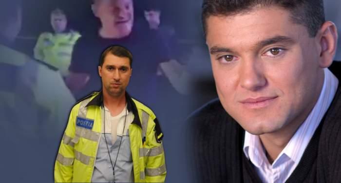 Cristian Boureanu, umilit încă o dată de poliţistul bătăuş! Agentul l-a făcut K.O.