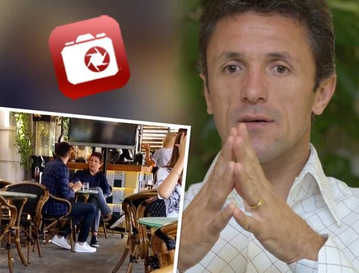 VIDEO PAPARAZZI / Gică Popescu nu poate să stea departe de fotbal! Întâlnire de gradul zero pentru fostul căpitan al Barcelonei