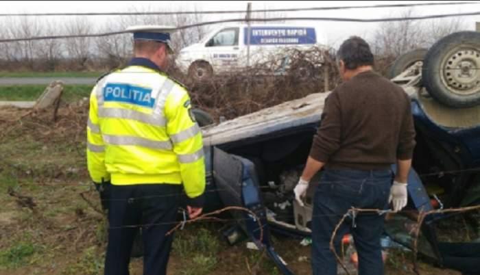 Accident teribil în Iaşi! O mamă şi doi copii, duşi de urgenţă la spital