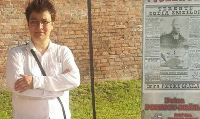 """Prima reacţie a Doinei Popescu, scriitoarea acuzată că fură copii cu """"ambulanţa neagră"""". """"A stins o țigară pe obrazul meu"""""""