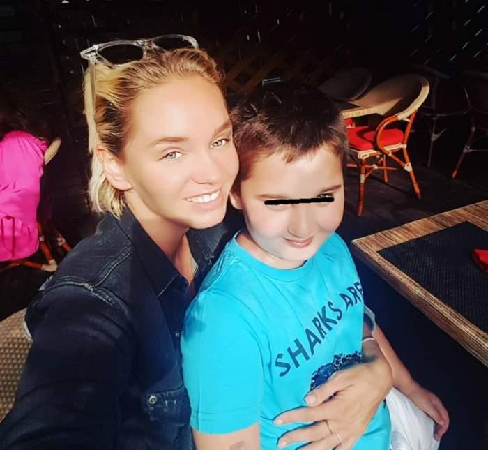 """FOTO / Ce mare s-a făcut fiul Mariei Constantin! Seamănă leit cu artista: """"Sufletul meu"""""""