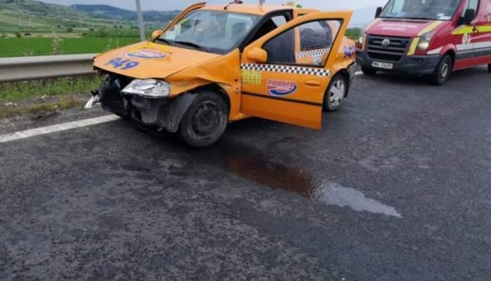 Accident tragic în Sibiu. Sunt cinci răniţi, printre care un copil de doar doi ani