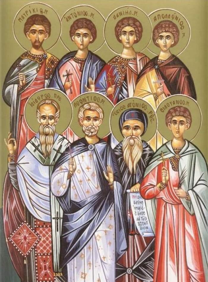 Sfinţii 45 de Mucenici din Nicopolea Armeniei, sărbătoriţi pe 10 iulie. Rugăciunea pentru linişte şi sănătate