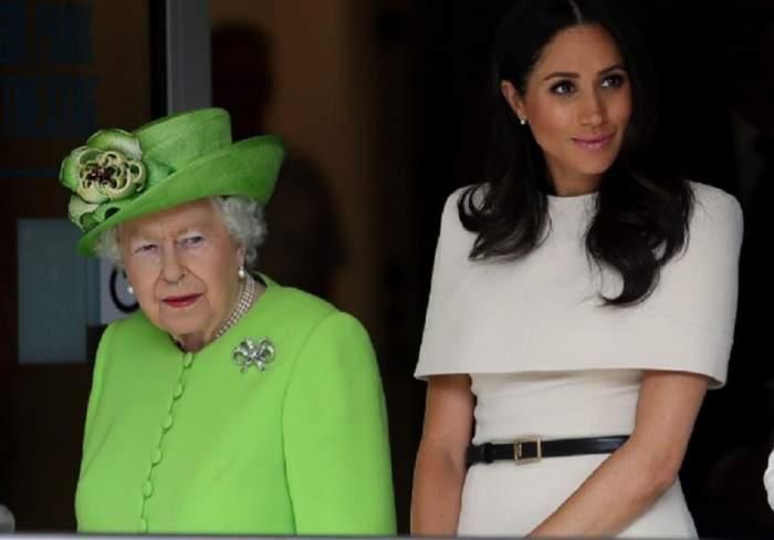"""Regina Angliei i-a dat """"lovitura de grație"""" lui Meghan Markle. I-a interzis una dintre mâncărurile favorite"""