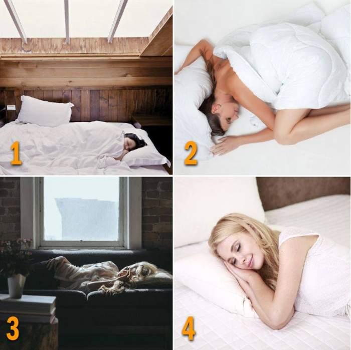 TEST / Vrei să ştii ce crede iubitul despre tine în pat? Alege o imagine şi vei avea o surpriză