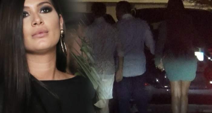 Imagini senzaţionale cu Roxana Dobre!  Cum le dă peste nas rivalelor! Paparazzii Spynews.ro au prins-o în plină acţiune