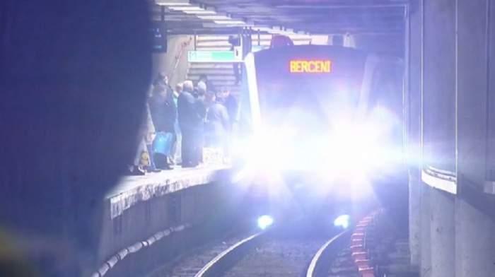 Un nou incident la metrou, în Bucureşti! O persoană a fost lovită de tren în această dimineaţă