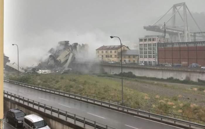 Bilanţul tragediei din Genova a crescut la 41 de morţi. O familie întreagă, găsită fără viaţă