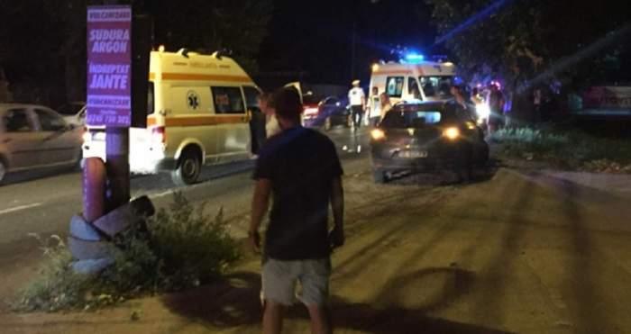 Accident mortal în Galați! Un tânăr a murit, după ce a fost lovit de două mașini