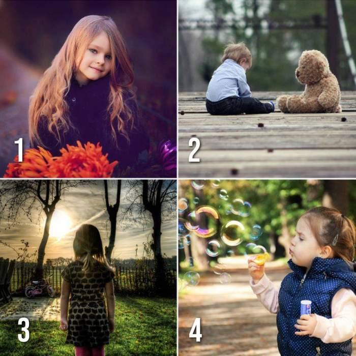TEST / Vrei să ştii ce meserie va avea copilul tău? Alege o imagine şi află la ce să te aştepţi
