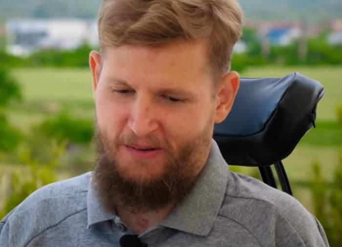 """Mihai Neşu  nu se predă, deşi i-au murit părinţii, soţia l-a părăsit, iar el se află în scaunul cu rotile! """"Trăiesc cel mai bun moment al vieţii mele"""""""