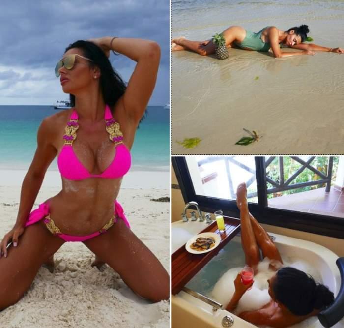 VIDEO & FOTO / Cea mai sexy brunetă din showbiz, vacanţă fără egal, în Zanzibar. Imagini care îţi taie răsuflarea cu Raluca Dumitru