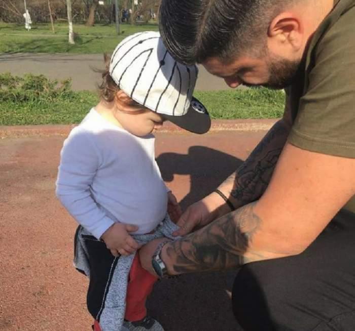 Clipe de panică pentru Gabriel Botez de la MPFM, după despărţirea de Roxana! Băieţelul lor a fost operat