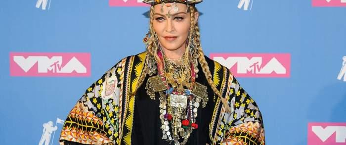 Madonna a generat multă furie, la MTV Video Music Awards. S-a urcat pe scenă și este incredibil ce a făcut