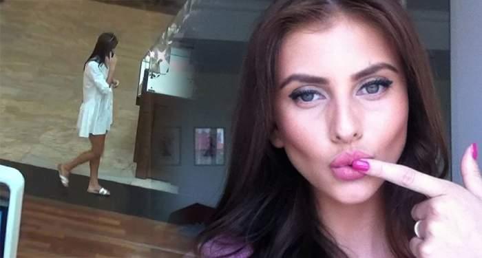 EXCLUSIV / Ultima fiţă în materie de modă! Roxana Ilie, apariţie lejeră într-un mall Bucureștean!