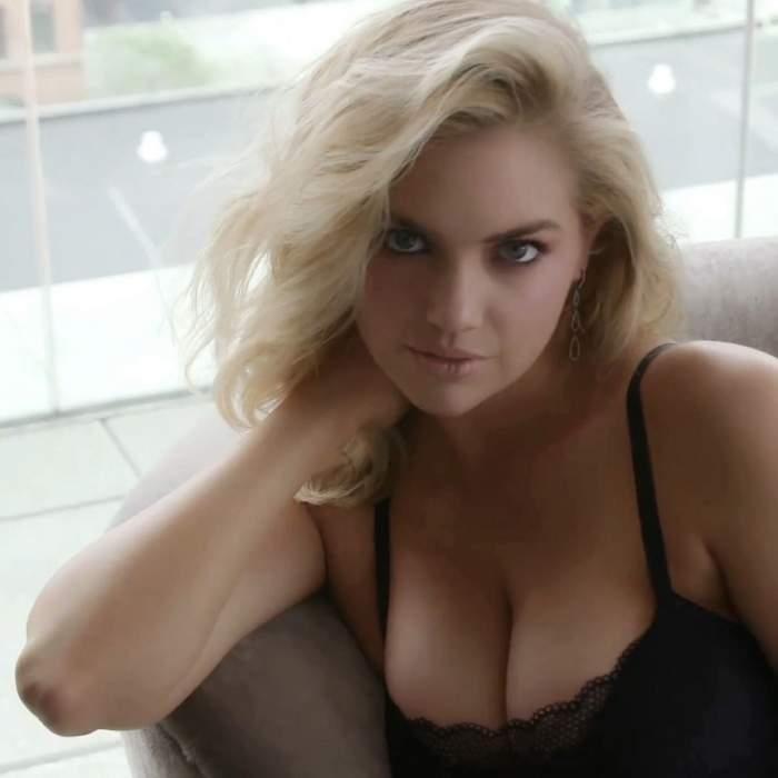 Kate Upton, ședință foto pentru... sânii ei! Imaginile au fost făcute publice