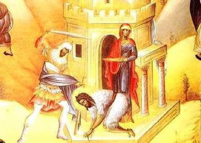 Sărbătoare mare pe 29 august! Ce să nu faci în ziua de Tăierea capului Sfântului Ioan Botezătorul