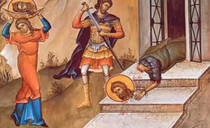 Rugăciunea pe care să o rostești de Tăierea Capului Sfântului Ioan Botezătorul. Te va apăra de cele rele