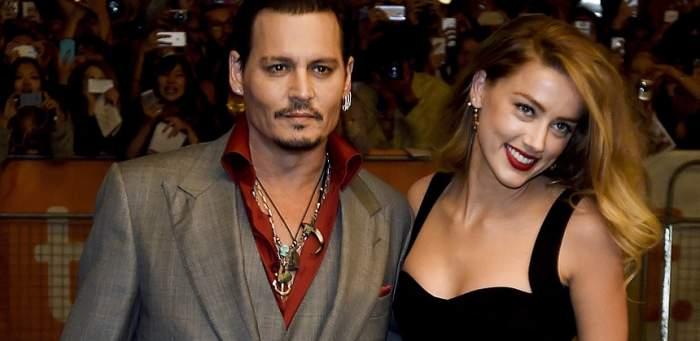 Johnny Depp își acuză fosta soție că l-a bătut. Care este reacția lui Amber Heard