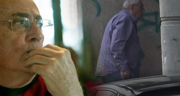VIDEO PAPARAZZI /Imagini cu un puternic impact emoţional! Horia Moculescu, chinuit de boală