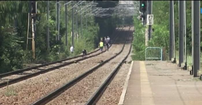 Un tânăr s-a aruncat în faţa trenului, în Neamţ. Incredibil ce au descoperit poliţiştii imediat după tragedie