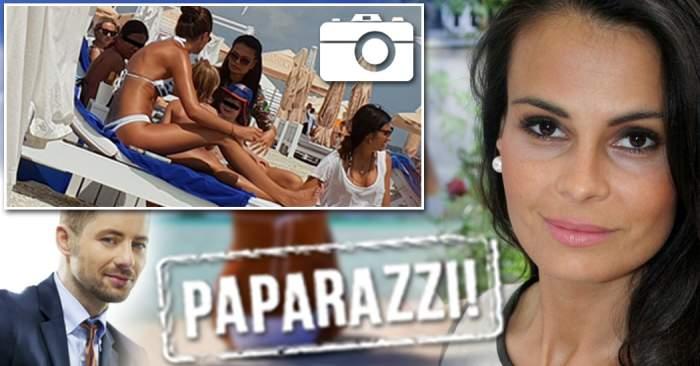 PAPARAZZI / Anca Serea, imagini unice, pe plajă! Cum a fost fotografiată soţia lui Adi Sînă!