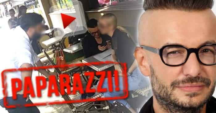 VIDEO PAPARAZZI / Întâlnire de gradul zero! Răzvan Ciobanu a dat nas în nas cu fostul iubit şi cu actualul partener al acestuia! Ce s-a întâmplat? Totul a fost filmat!