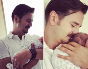 """Mihai Petre a dezvăluit numele celei de-a doua fetiţe: """"La 2 noaptea a sunat alarma biologică"""""""