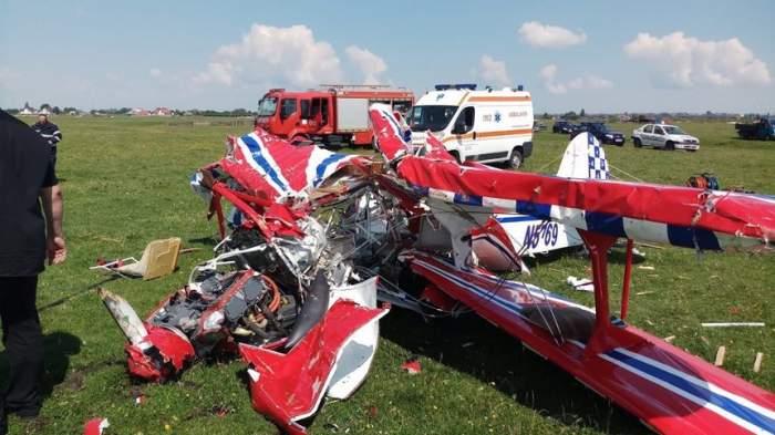 Tragedie aviatică în Suceava! Două avioane s-au ciocnit în zbor şi s-au prăbuşit