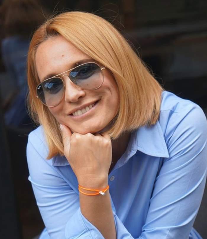 FOTO / Andreea Esca a renunţat la look-ul care a făcut-o celebră. Cum arată acum simpatica prezentatoare