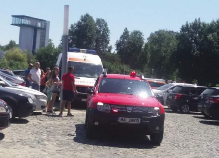 VIDEO / Alertă într-un mall din Constanţa. A izbucnit un incendiu şi toate persoanele au fost evacuate
