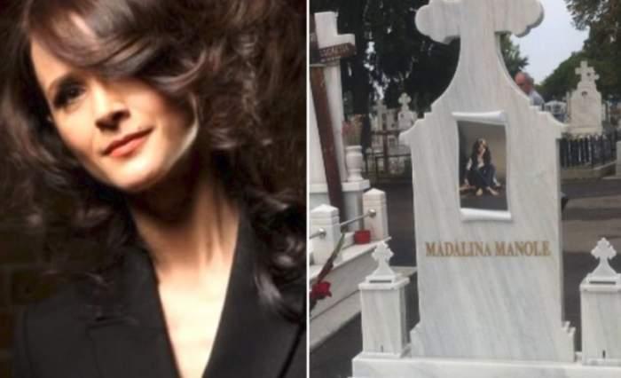 """Exclusiv! Fratele Mădălinei Manole, despre incidentul de la mormântul artistei: """"Petru Mircea face așa, aruncă florile noastre"""""""
