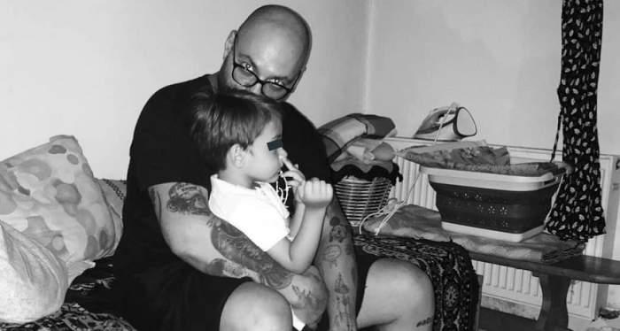 """FOTO / Cristi Mitrea, cea mai frumoasă declarație pentru fiul său: """"Fie că ești sau nu în brațele mele.."""""""