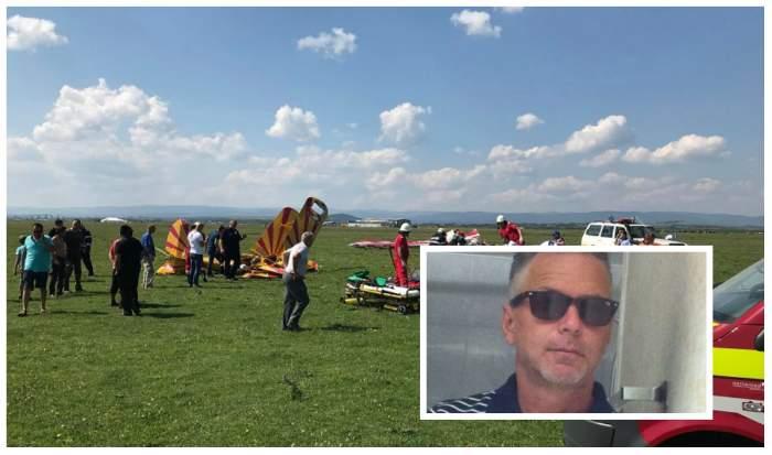 """Care este starea lui Sorin Bochiș, pilotul rănit în accidentul aviatic de la Frătăuții Vechi: """"Sunt câteva zile dificile"""""""