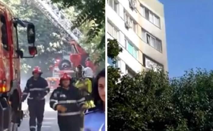 Explozie puternică în Bucureşti! Patru persoane au fost rănite, una dintre ele fiind în stare gravă