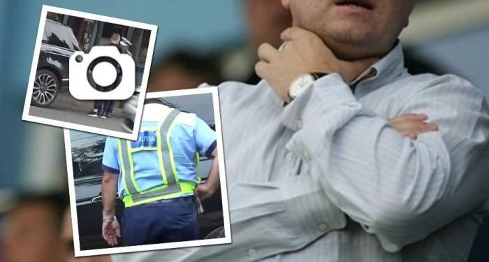VIDEO EXCLUSIV / Cazul Cristian Boureanu, la indigo! Un patron de fotbal celebru de la noi a dat cu flit poliţiştilor. Oamenii legii au chemat întăriri!