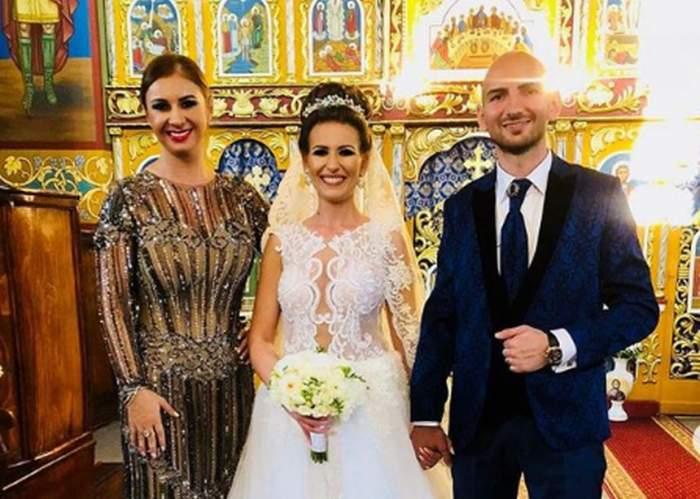 VIDEO / Anamaria Prodan a cununat o nouă pereche de fini! Laurenţiu Reghecampf nu i-a fost alături