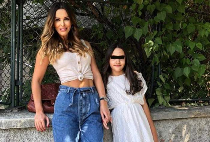 FOTO / Rania, fetiţa Denisei Nechifor, a împlinit 10 ani. Tortul a fost unul cu adevărat ieşit din comun
