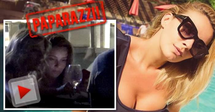 VIDEO PAPARAZZI / Diana Dumitrescu, scandal în văzul tuturor, cu ameninţări! Nimeni nu a mai văzut-o aşa furioasă