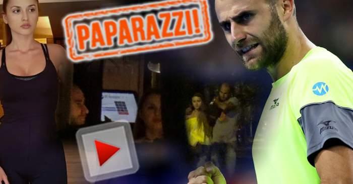 VIDEO PAPARAZZI / Marius Copil s-a făcut băiat mare! Iată cum îşi răsfaţă iubita cel mai în vogă jucător de tenis din România