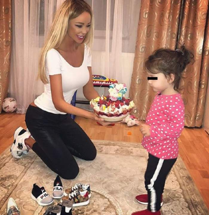 VIDEO / Zi specială pentru Bianca Drăgușanu. Blonda, surprinsă în momente de tandrețe maximă cu fetița ei
