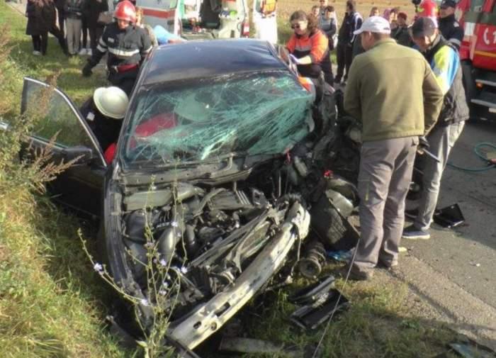 FOTO / Accident cumplit în județul Iași! Un șofer de 19 ani a omorât o persoană nevinovată