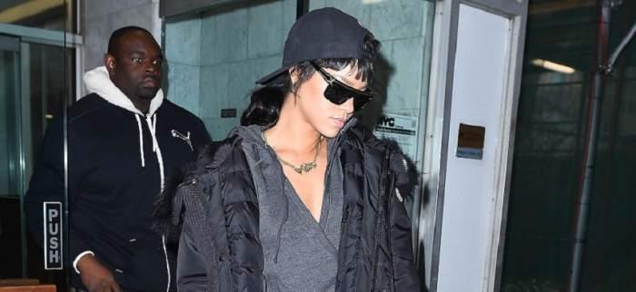 Panică pentru Rihanna! Poliţia i-a înconjurat din nou casa