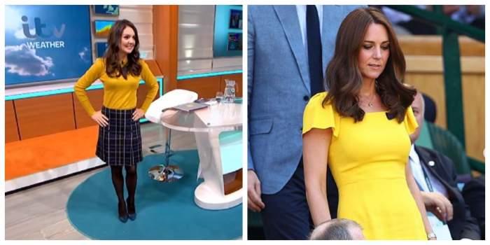 """Kate Middleton şi Laura Tobin, asemănare izbitoare. Ea este sosia Ducesei de Cambridge: """"Ar putea fi surori"""""""